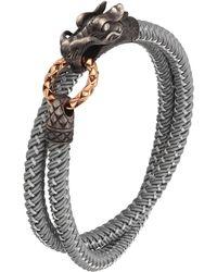 John Hardy - Naga Nylon Cord Wrap Bracelet - Lyst