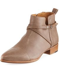 Alberto Fermani - Mea Leather Ankle Boot - Lyst