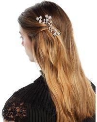 Jennifer Behr - Violet Swarovski Crystal Hair Comb - Lyst