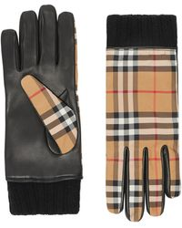 Burberry Men's Rib Gloves - Multicolor