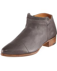 Alberto Fermani - Serafina Leather Ankle Boot - Lyst