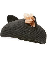 Eugenia Kim | Caterina Braided Cat-ear Beret Hat | Lyst