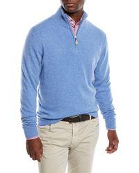 Neiman Marcus - Men's Cashmere Half-zip Sweater - Lyst
