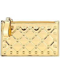 Valentino - Rockstud Spike Coin Purse/card Case - Lyst