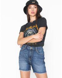 Lee Jeans Boyfriend Short Flick Dark - Blauw
