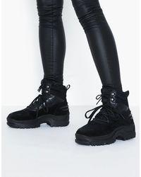 Bianco Biacoro Chunky Winter Boots - Zwart