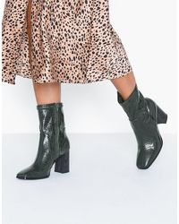 NLY Shoes Square Block Boot - Meerkleurig