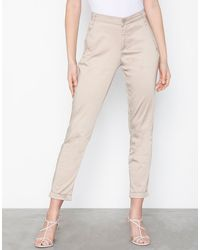 Vila Vichino Rwre 7/8 New Pant-noos - Naturel