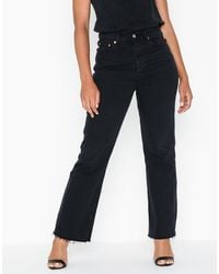 Levi's Levis Ribcage Crop Flare On The Rock - Blauw