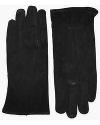 Pieces Pccomet Suede Gloves - Zwart