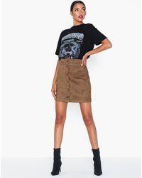 Pieces Pcjola Hw Skirt D2d Bruin
