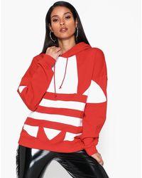 adidas Originals Lrg Logo Hoodie - Rood