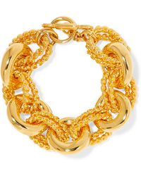 Kenneth Jay Lane - Gold-tone Bracelet - Lyst