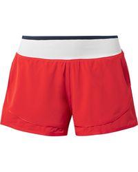 adidas By Stella McCartney - Side-stripe Performance Shorts - Lyst