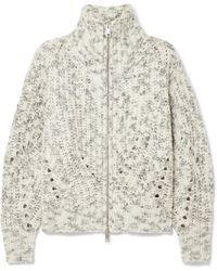 Isabel Marant - Janet Merino Wool Turtleneck Jacket - Lyst