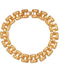 Kenneth Jay Lane Gold-tone Necklace - Metallic