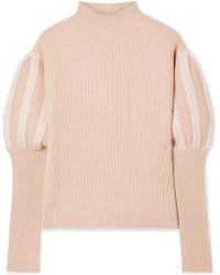 Jonathan Simkhai - Wool Sweater - Lyst