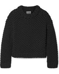 Acne Studios - Ohnyx Oversized Cotton-blend Sweater - Lyst