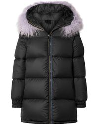 Mr & Mrs Italy - Faux Fur-trimmed Quilted Shell Down Coat - Lyst