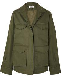 Totême  - Avignon Cotton-twill Jacket - Lyst