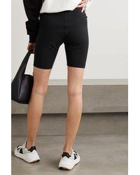 WARDROBE.NYC Stretch-jersey Shorts - Black