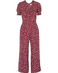 Faithfull The Brand - Bonnie Floral-print Crepe Jumpsuit - Lyst