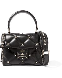 Valentino - Garavani Candystud Mini Quilted Leather Shoulder Bag - Lyst