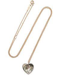 Catbird - Love Token 14-karat Gold Mother-of-pearl Necklace - Lyst
