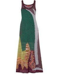 Missoni - Crochet-knit Maxi Dress - Lyst