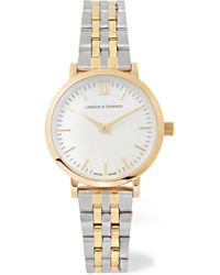 Larsson & Jennings - Lugano Vasa Gold-plated And Stainless Steel Watch - Lyst