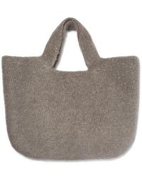 Lauren Manoogian - Oval Cotton, Alpaca And Wool-blend Tote - Lyst