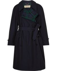 Burberry - The Charwood Cotton-gabardine Trench Coat - Lyst