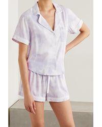 Rails Darcie Pyjama Aus Twill Mit Batikmuster - Lila