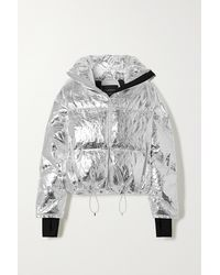 CORDOVA Mont Blanc Metallic Quilted Down Ski Jacket