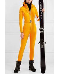 CORDOVA Skianzug Mit Streifen - Gelb