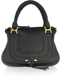 Chloé - The Marcie Medium Textured-leather Tote - Lyst