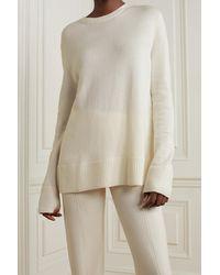 CASASOLA Maria Cashmere Sweater - White