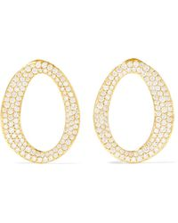 Ippolita - Cherish 18-karat Gold Diamond Earrings - Lyst
