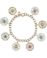 Marlo Laz - Rhapsody 14-karat Yellow, White And Rose Gold Multi-stone Bracelet Gold One Size - Lyst