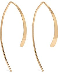Melissa Joy Manning - Wishbone 14-karat Gold Earrings Gold One Size - Lyst