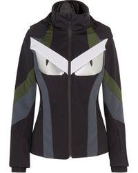 Fendi - Wonders Panelled Hooded Ski Jacket - Lyst