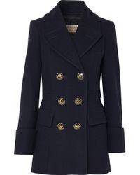 Burberry - Manteau court à boutonnière croisée - Lyst