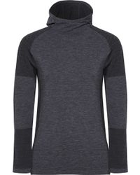 adidas Originals - Climaheat Stretch-jersey Hooded Top - Lyst