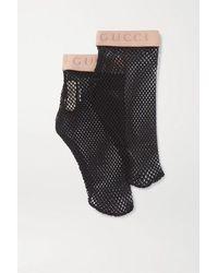Gucci Fishnet Socks - Black