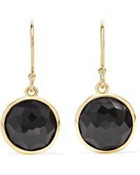 Ippolita - Lollipop 18-karat Gold Onyx Earrings - Lyst