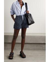 Alex Mill Sunny Shorts Aus Baumwollpopeline - Blau