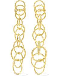 Buccellati | Hawaii Honolulu 18-karat Gold Earrings | Lyst