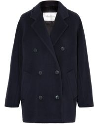 Max Mara - Double-breasted Camel Hair Coat - Lyst