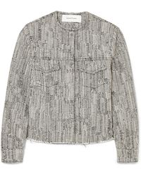 Marques'Almeida - Cotton-blend Tweed Jacket - Lyst