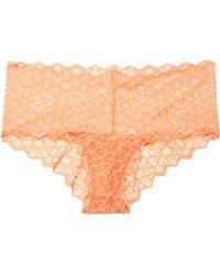 Cosabella - Sweet Treats Star Lace Briefs - Lyst